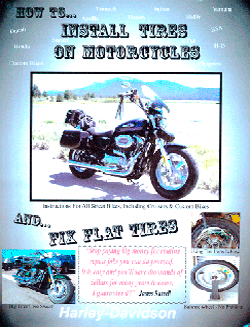 How to Install Motorcycle Tires, James Russell Publishing