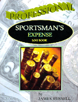 Professional Sportsmans Expense Log, James Russell Publishing